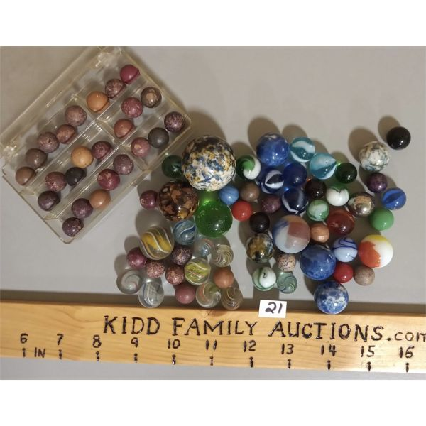 QTY OF MARBLES