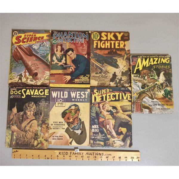 LOT OF 7 ADVENTURE STORY BOOKS