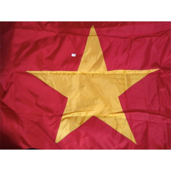 LOT OF 4 PEOPLES REPUBLIC OF CHINA FLAGS 12 X 6 FEET