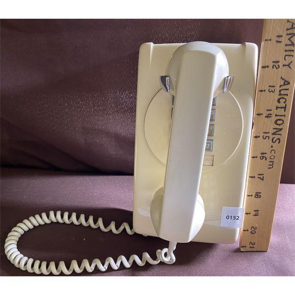 RETRO PUSH BUTTON WALL PHONE