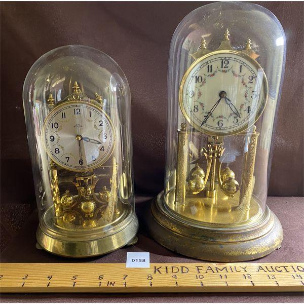 LOT OF 2 GERMAN MADE ANNIVERSAY CLOCKS