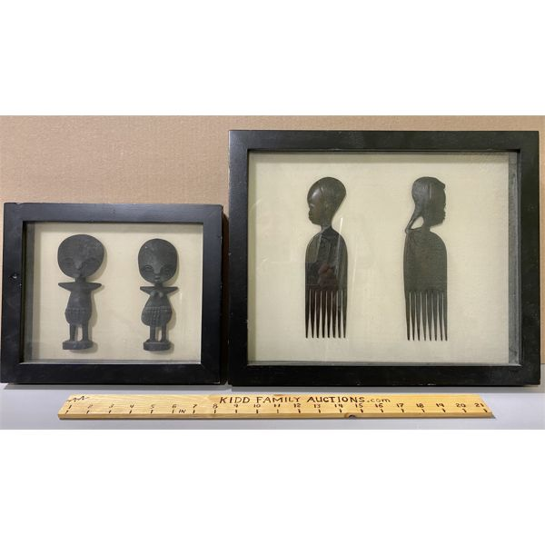LOT OF AFRICAN HANDCRAFTED COLLECTIBLES