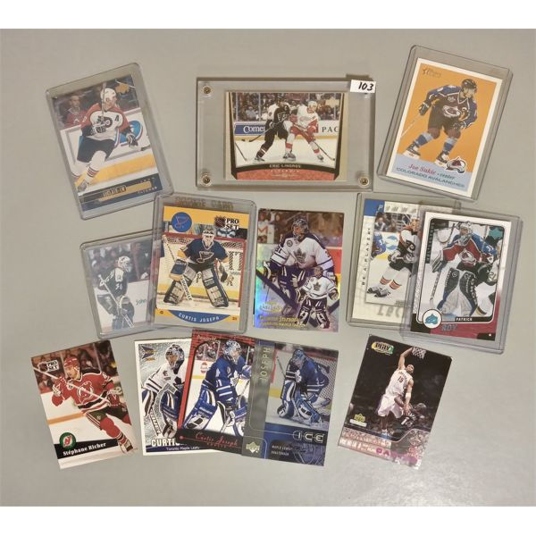 QTY OF COLLECTIBLE HOCKEY CARDS