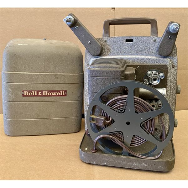 BELL & HOWELL REEL TO REEL MOVIE PROJECTOR