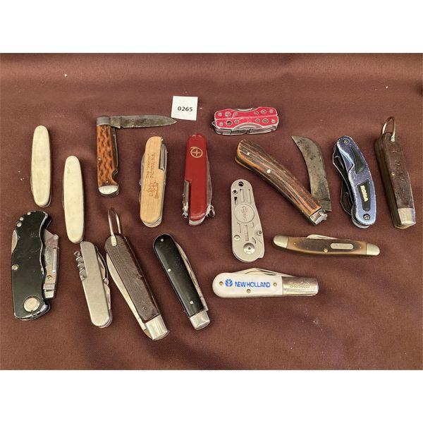 QTY OF POCKET KNIVES