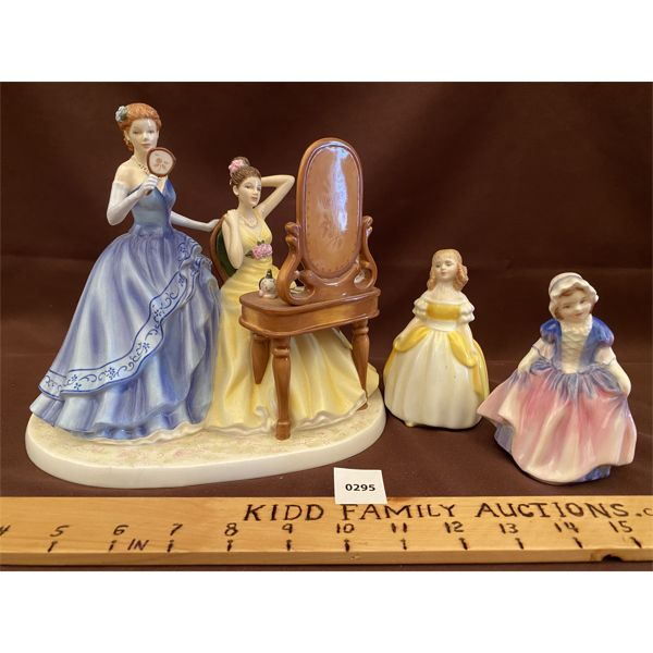 LOT OF 3 ROYAL DOULTON FIGURINES