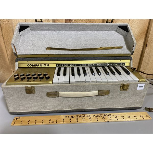 COMPANION PORTABLE ORGAN - WORKS WELL