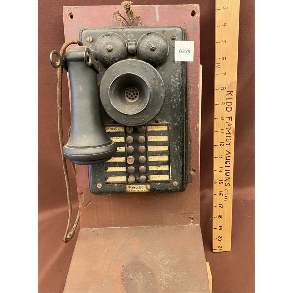 ANTIQUE WESTERN ELECTRIC INTER-PHONE