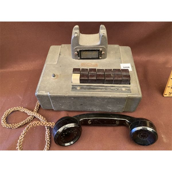 1934 AE MONOPHONE - TYPE 34A INTERCOM