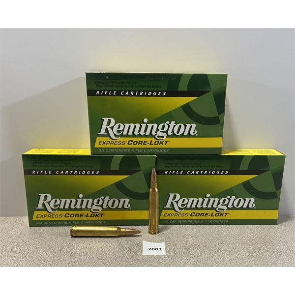 AMMO: 60X REMINGTON 300 WIN MAG 150GR PSP