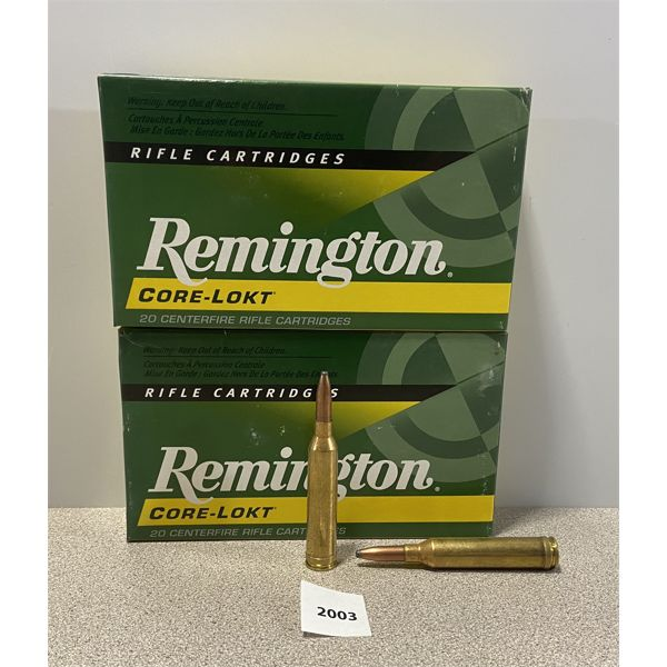 AMMO: 40X REMINGTON 264 WIN MAG 140GR PSP
