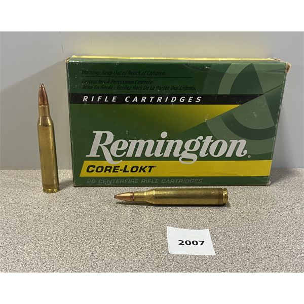 AMMO: 19X REMINGTON 25-06 REM 100GR PSP
