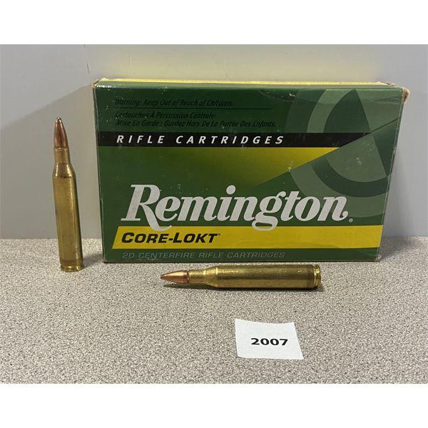 AMMO: 19X REMINGTON 25-06 REM 100GR PSP