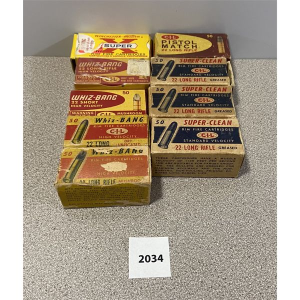 AMMO: APPROX 450X 22 LR MIXED MAKES