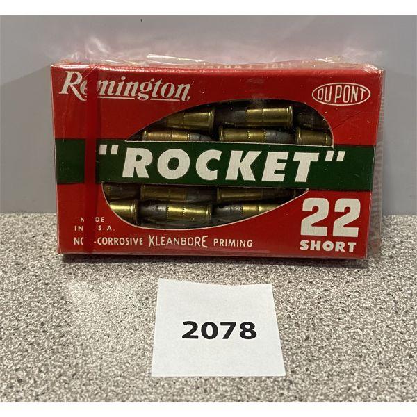AMMO: 28X REMINGTON 22 SHORT