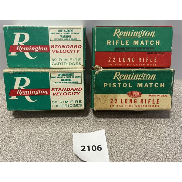 AMMO: 200X REMINGTON 22 LR