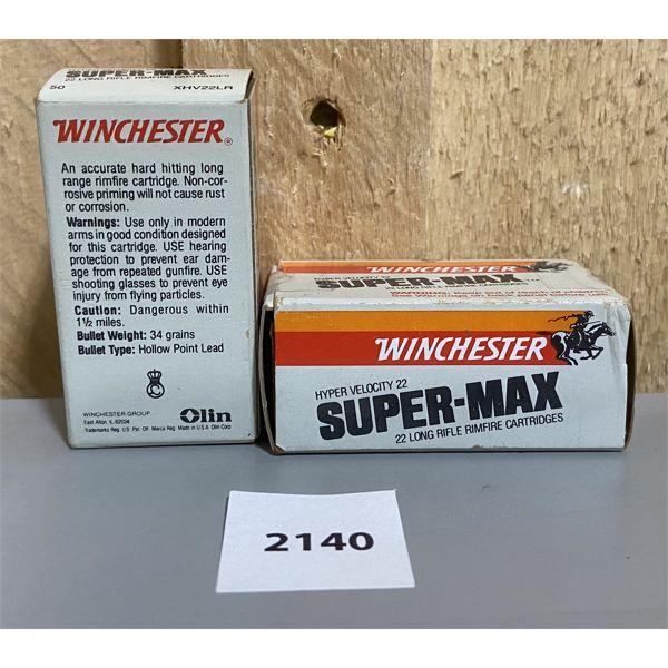 AMMO: 100X WINCHESTER 22 LR