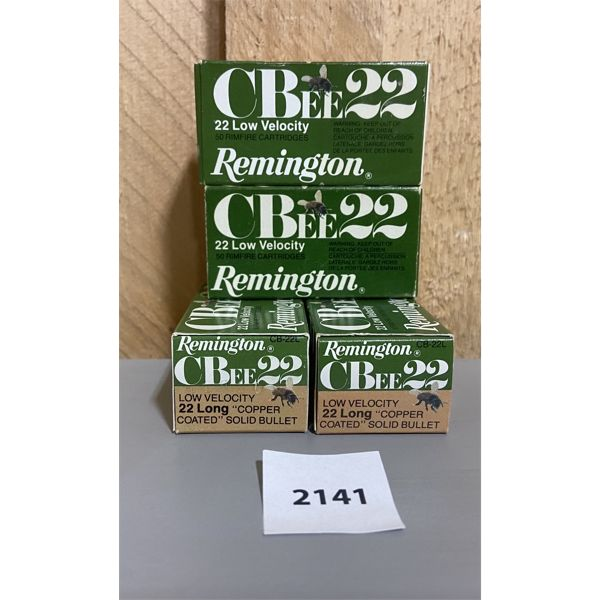 AMMO: 200X REMINGTON 22 L