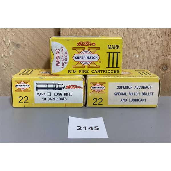 AMMO: 150X WINCHESTER 22 LR