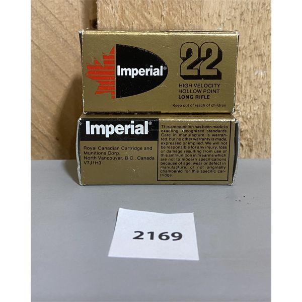 AMMO: 100X IMPERIAL 22 LR