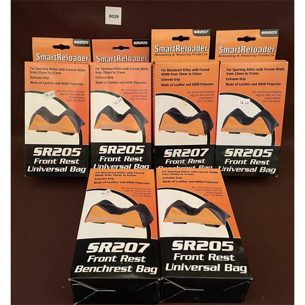 LOT OF 6 NEW GUN REST BAGS