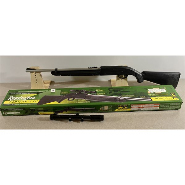 REMINGTON AIRMASTER 77 IN .177 PELLET OR BB - NO PAL REQUIRED