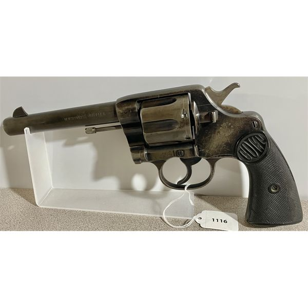 COLT NEW SERVICE MODEL IN .455 ELEY / RECHAMBERED TO .45 LC