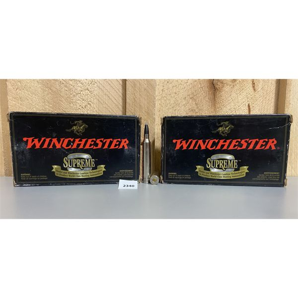 AMMO: 40X WINCHESTER 7MM STW 140GR BST