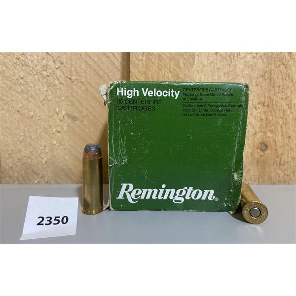 AMMO: 25X REMINGTON 44 REM MAG 240GR SP
