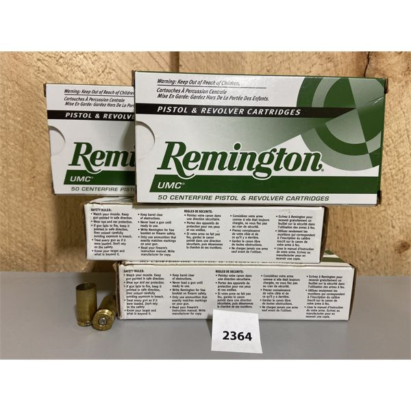 BRASS: 197X REMINGTON 40 S&W ONCE FIRED