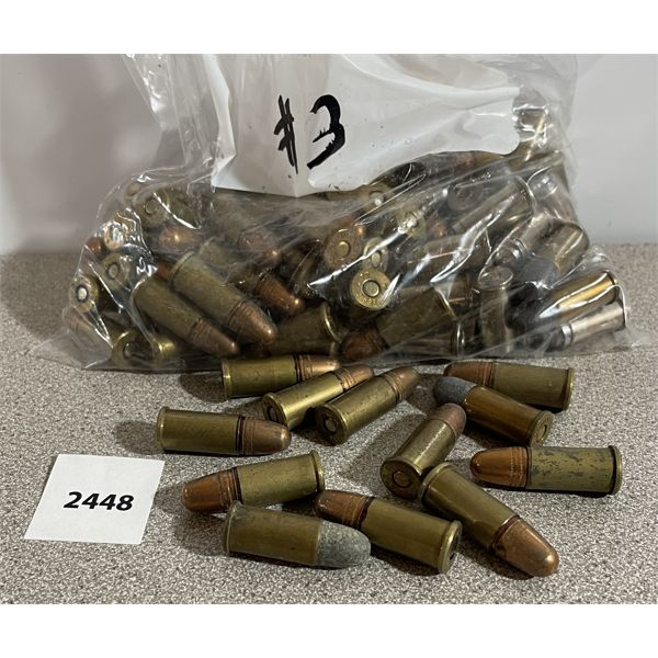 AMMO: 100X 38 S&W MIXED BRANDS