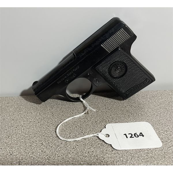 WALTHER MODEL 9 - DEACTIVATED - NO MAG, NO TRIGGER - NO PAL REQUIRED.