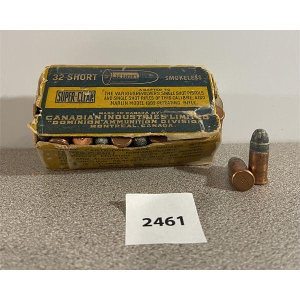AMMO: 42X CIL 32 SHORT 82GR