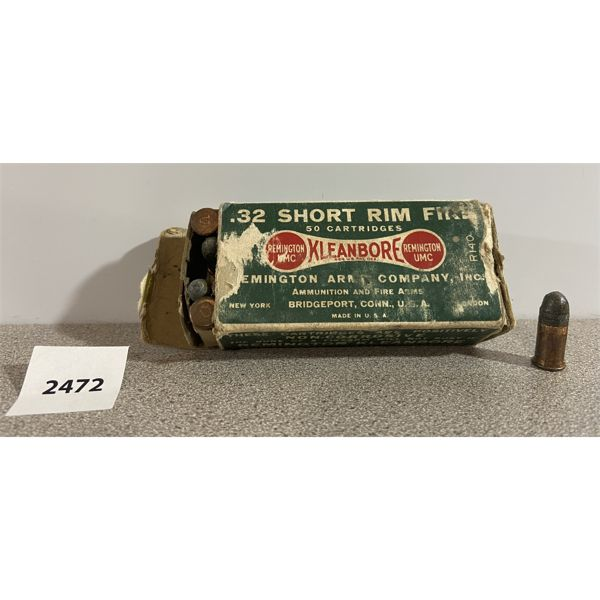 AMMO: 50X 32 RIMFIRE SHORT