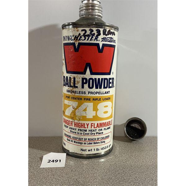 POWDER: 1 LB WINCHESTER BALL #748