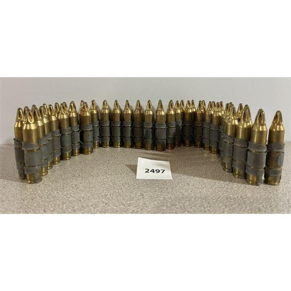 AMMO: 55X 5.56X45MM BLANKS ON MACHINE GUN LINKS