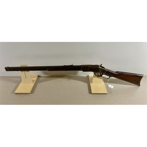 """WINCHESTER MODEL 1873 IN .38-40 - SPECS: 24"""" OCTAGON BARREL. EXTRAS: NONE. CONDITION: S/N:"""