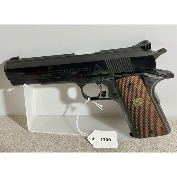 COLT MODEL 1911 NATIONAL MATCH IN .45 AUTO