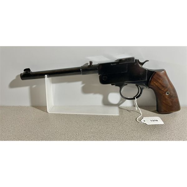 UNKNOWN GUNSMITH CUSTOM MADE IN .22 HORNET - RESTRICTED CLASS.
