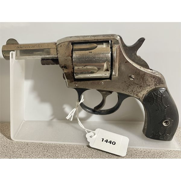 H&R THE AMERICAN DBL ACTION MODEL IN .38 (?) - PROHIB CLASS