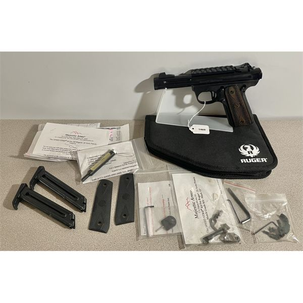 RUGER 22 / 45 LITE IN .22 LR -  RESTRICTED CLASS