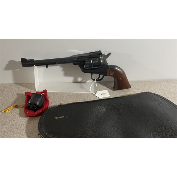 RUGER NEW MODEL SINGLE SIX IN .22  - RESTRICTED CLASS