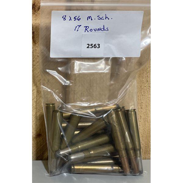 AMMO: 17X 8X56 M-S