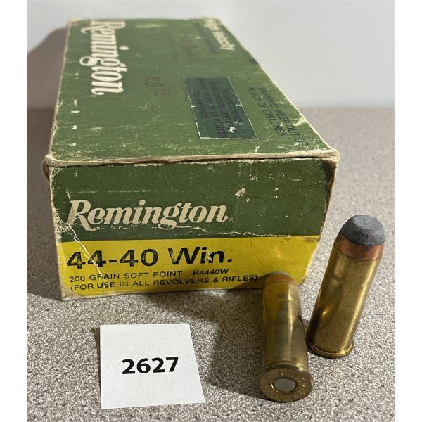 AMMO: 50X REMINGTON 44-40 WIN 200GR