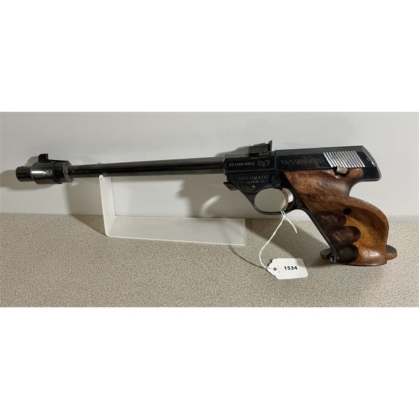 HIGH STANDARD MODEL 102 SUPERMATIC TROPHY IN .22 LR - RESTRICTED CLASS