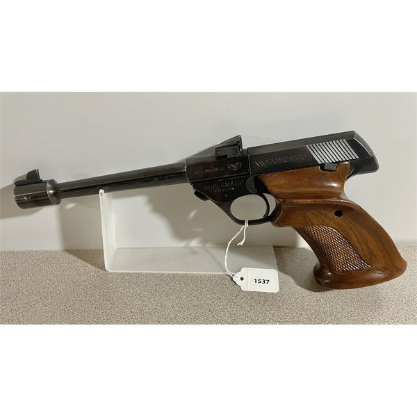 HIGH STANDARD 102 SUPERMATIC CITATION IN .22 LR - RESTRICTED CLASS