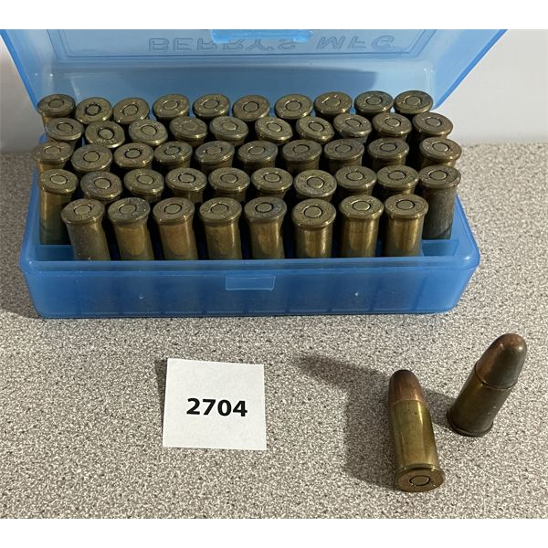 AMMO: 50X 380 CAL MILITARY ISSUE MARKED DC 42