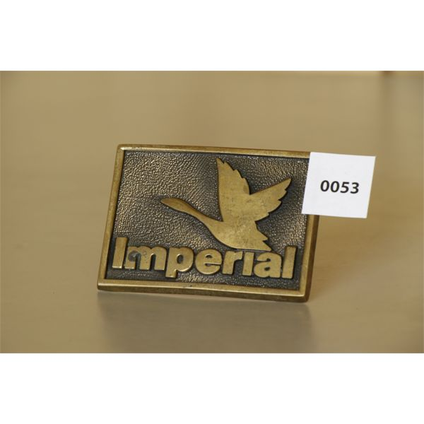IMPERIAL IVI LIMITED EDITION BELT BUCKLE - 1982