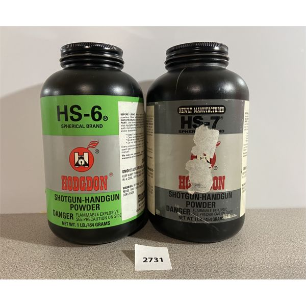POWDER: 2 LBS HOGDON- HS6 & HS7