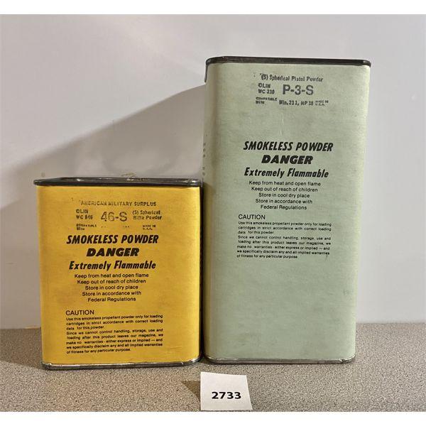 POWDER: 2 LBS- 46S (WC846) & P3S (WC230/ HP38)